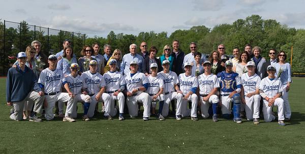 2015 DHS Baseball Senior Day