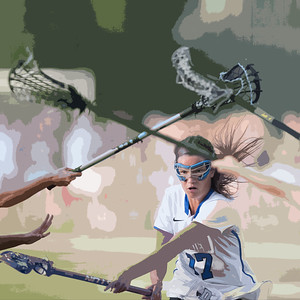 2016 DHS Girls Lacrosse States Semi vs. Wilton