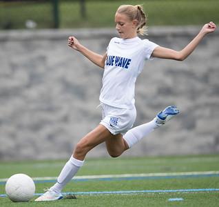 2016 DHS Girls Soccer JV vs Norwalk