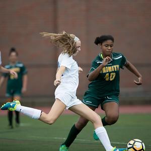 2016 DHS Girls Soccer vs. Trinity