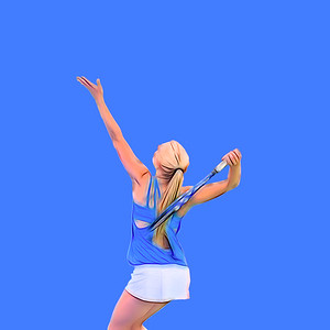 2016 DHS Girls Tennis vs. Staples