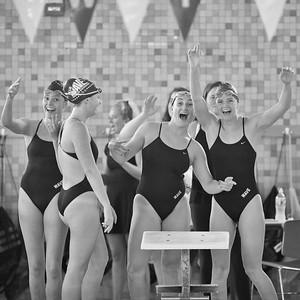 2017 DHS Girls Swimming vs. Warde
