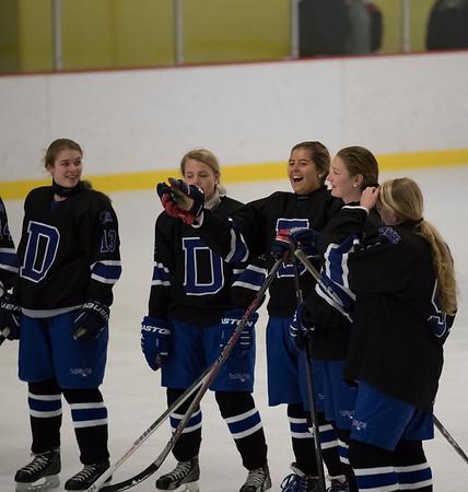 2017 DHS Girls Hockey FCIACs vs. Greenwich
