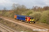 130426-006     East Midlands Trains class 153 unit no. 153326 is seen nearing North Stafford Junction, Willington with 1K02, the 0658 Crewe to Derby.