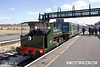 130406-025     Peckett 0-4-0ST no. 1163 with a couple of heritage unit vehicles, captured at Swanwick.