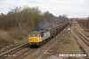 130406-015     BARS/DCR class 56 no. 56312 thunders past Westhouses near Alfreton, powering train 5Z62, 0916 York Holgate Sidings to Chaddesden Sidgs, empty JRA box wagons.