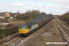 130406-017     BARS/DCR class 56 no. 56312 thunders past Westhouses near Alfreton, powering train 5Z62, 0916 York Holgate Sidings to Chaddesden Sidgs, empty JRA box wagons.