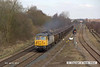 130406-013     BARS/DCR class 56 no. 56312 thunders past Westhouses near Alfreton, powering train 5Z62, 0916 York Holgate Sidings to Chaddesden Sidgs, empty JRA box wagons.