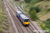130813-019     Northern Rail class 144 pacer unit no 144004 is seen from Whisker Hill footbridge, Retford, heading towards Worksop with 2R29, the 14.25 Lincoln to Adwick.