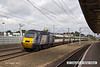 130803-010     East Coast Trains class 43 no 43313 passing through Retford, leading train 1A19, the 08.13 Harrogate to London King's Cross.