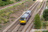 130813-025     Northern Rail class 144 pacer unit no 144010 is seen from Whisker Hill footbridge, Retford, heading towards Worksop with 2R31, the 15.24 Lincoln to Adwick.