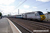 130803-012     A East Coast Trains HST, led by 43309 speeds through Retford with train 1S09, the 09.00 London King's Cross to Edinburgh.