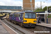 130803-001     Northern Rail class 144 pacer unit no 144010 calls at Retford with 2P35, the 07.30 Sheffield to Lincoln.