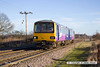 131228-012     Northern Rail pacer unit, class 144 no 144003 is seen passing Rushey sidings with 2R15, the 12.02 Retford Low Level to Adwick.