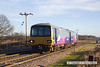 131228-011     Northern Rail pacer unit, class 144 no 144009 is seen passing Rushey sidings with 2R13, the 11.02 Retford Low Level to Adwick.