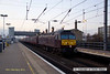 130216-002     WCRC class 47 no. 47237 is captured pulling into Newark North Gate, at the head of 1Z54, 06.00 St Neots - Preston.