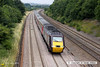 130720-015     A cross Country Trains HST led by 43321 speeds past Hasland with train 1V54, the 06.32 Dundee to Newquay.