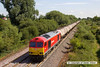 130726-021      DB Schenker class 60 no 60010 passes a sunny Willington, powering train 6M57, 05.58 Lindsey Oil Refinery to Kingsbury oil sidings, loaded fuel-oil tanks.