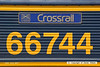 130724-008     Nameplate of GBRf class 66/7 no 66744, formally named Crossrail during a ceremony at Northfleet on 21st June 2012.