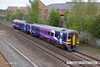 130511-0015    Northern Rail class 158 unit no. 158851 is seen leaving Langley Mill with 1Y20, the 10.15 Nottingham to Leeds.
