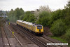130511-012     The distinctive Network Rail yellow HST powerd by 43014 & 43062 John Armitt (rear) is captured passing Langley Mill with test train,1Q28, 0834 Derby R.T.C. - Craigentinny - Heaton T&R.S.M.D.