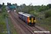 130517-001     East Midlands Trains class 156 unit no. 156473 is seen leaving Whitwell with 2D12, the 1238 Worksop to Nottingham.