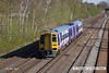 130502-004     Northern Rail class 158 unit no. 158903 is seen arriving at Langley Mill with 1Y09, the 0705 Leeds to Nottingham.