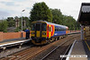 130904-018     East Midlands Trains class 153 unit no 153381 calls at Gainsborough Lea Road with 2K37, the 13.01 Doncaster to Lincoln.