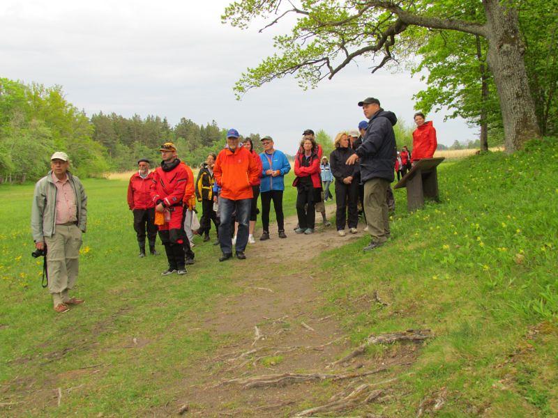 Guppen med guiden Fredrik