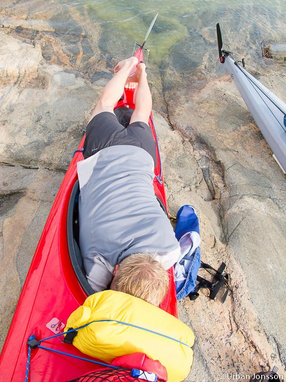 Att klara en niodagars i en K2:a är en prestation. Håkan kröp in för att hitta nya skrymslen för prylar