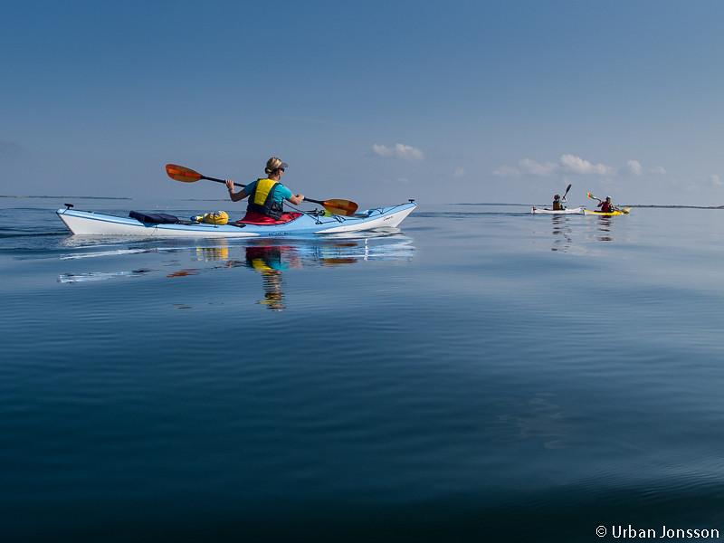 otäckt fin paddling