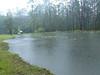 Dam ! Overflowing near pump housing (top left)