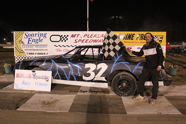 Brad Penn Performance Racing Oil Street Stock Feature Winner #32 Tom Hodges Jr.