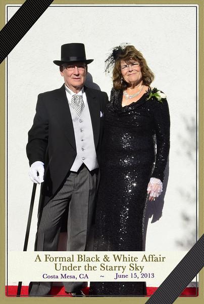 06-15-2013 Formal Black & White Affair