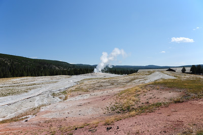 Old Faithful eruption (7 of 7)