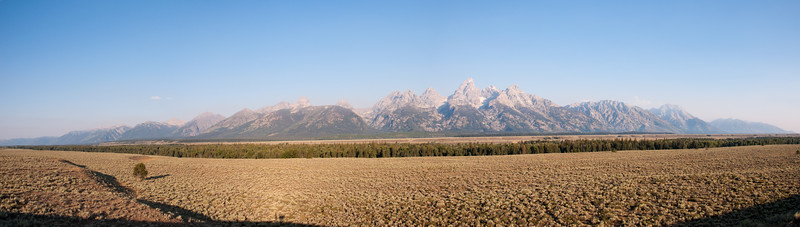 Morning over the Tetons