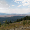 View of the Tetons from Signal Mountain.