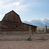 Barn at Mormon Row ruins.