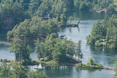 7.	1000 Islands viewed from SkyDeck  6/14/13