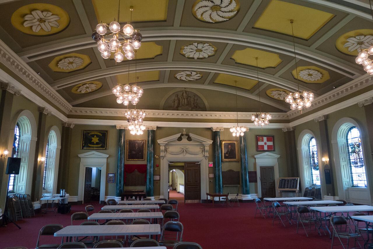 1.Kingston City Hall, Memorial Hall, honoring Sir John A. Macdonald 6/12/13