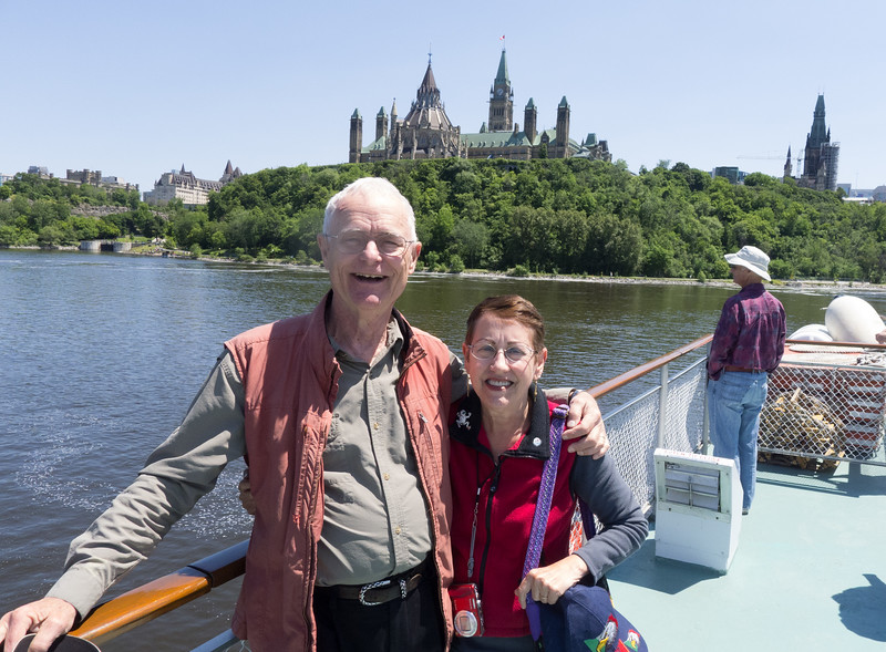18.Don and Lois arriving in Ottawa 6/19/13