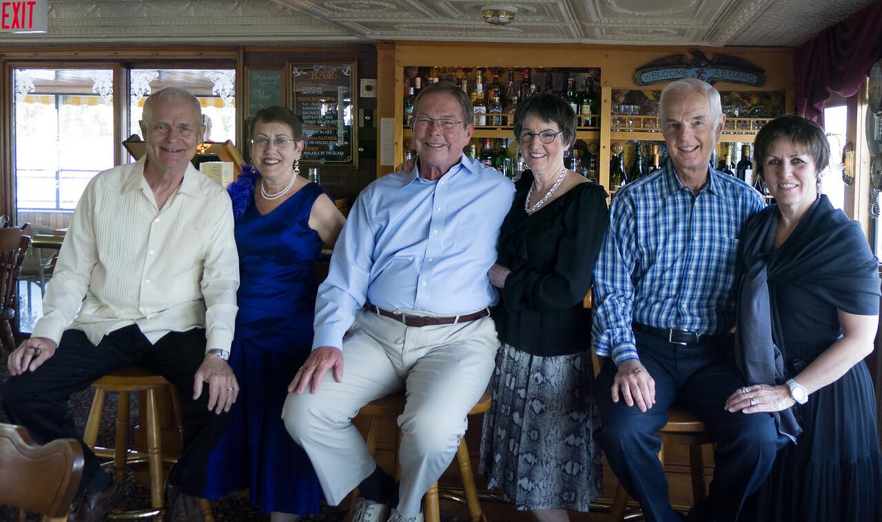 16.Don, Lois, Brandon, Kathy, Mac, Dava on board 6/18/13