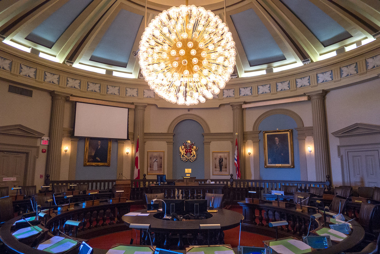 "2.Kingston City Hall, City Council Chambers (""The Horsehoe"") 6/12/13"