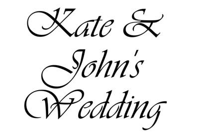 11-09-13 Kate & John