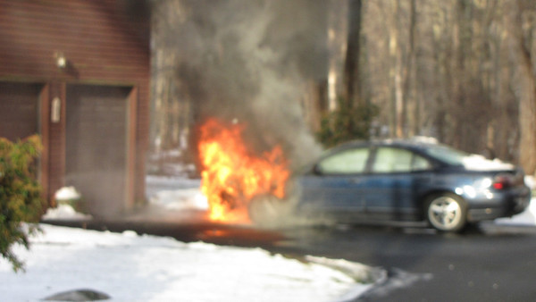 1/17/2013 Car Fire Wood Pond Lane