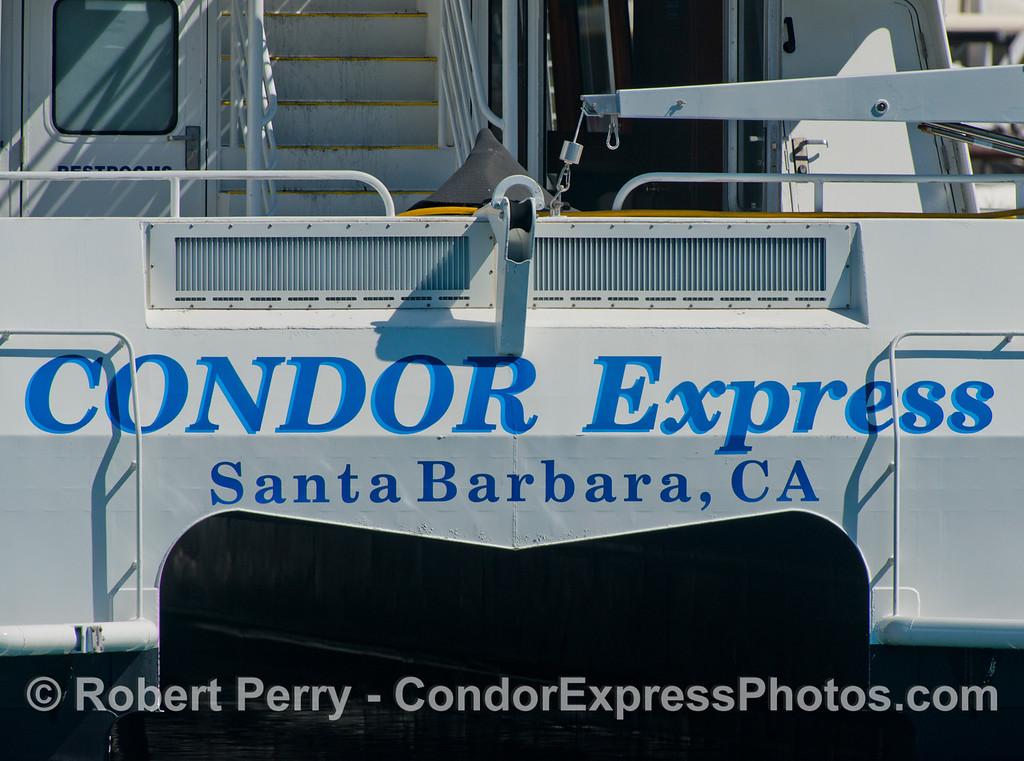 Condor Express fantail 2013 03-10-SB Harbor-088