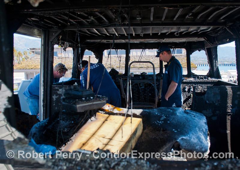 Condor Express fire damage 2013 03-10-067