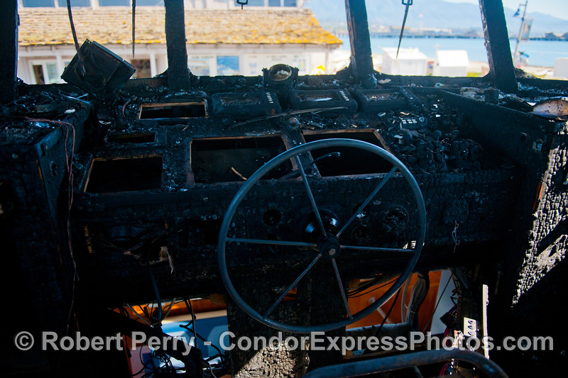 Condor Express fire damage 2013 03-10-049