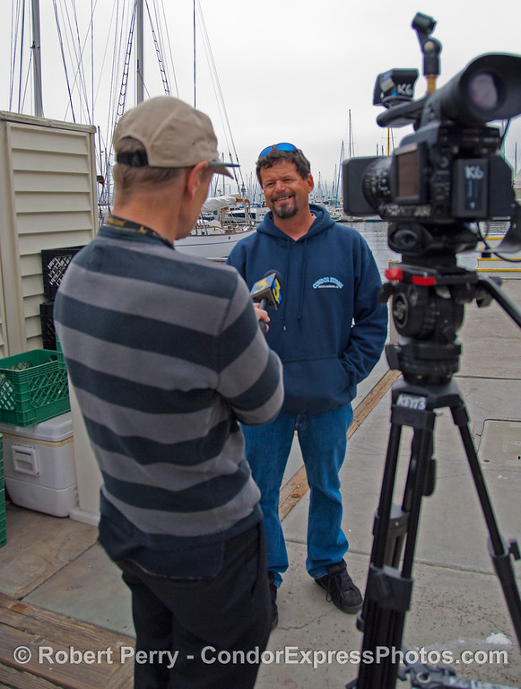 Mat Curto TV interview 2013 03-16 SB Harbor-005
