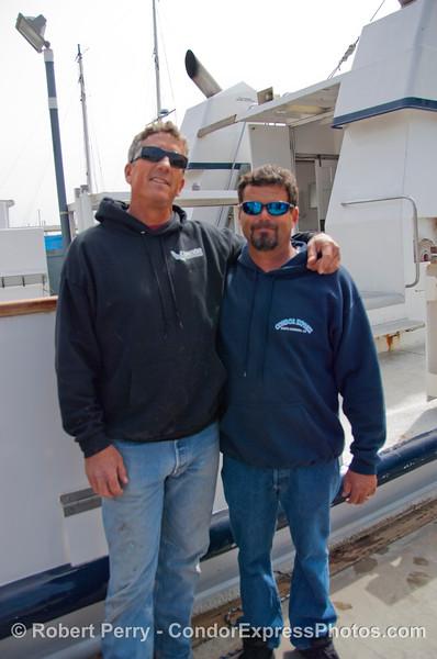 Capt Mat and Capt Scott 2013 03-16 SB Harbor-122